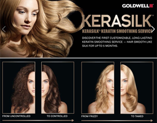 image of Goldwell Kerasilk keratin treatment