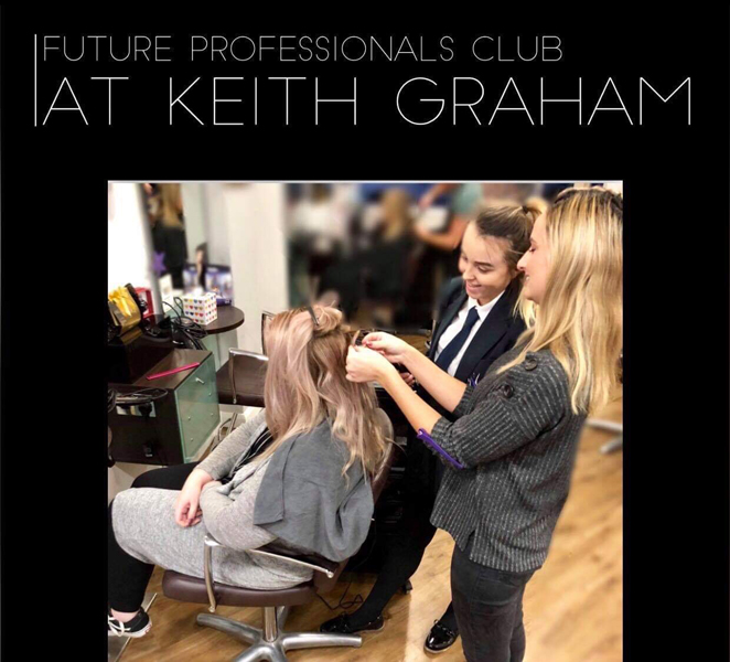 Future Professional Club - Keith Graham Hairdressing - Cliftonville